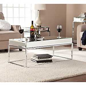 Morisot Mirrored Coffee Table