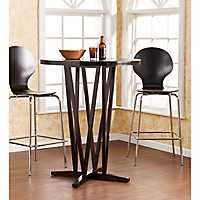 Hepworth Dark Espresso Bar Table