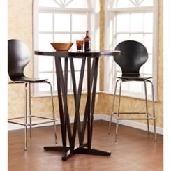 Hepworth Dark Espresso Bar Table