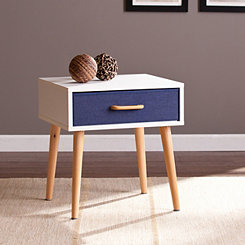 Eva Single Drawer Accent Table