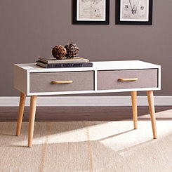Eva 2-Drawer Accent Table