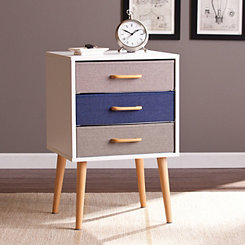 Eva 3-Drawer Accent Table