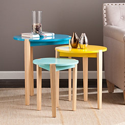Hesse Accent Tables, Set of 3
