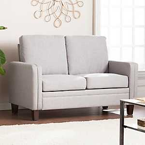 Dove Gray Florence Love Seat