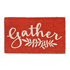 Orange Gather Doormat