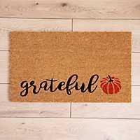 Grateful Leaf Doormat