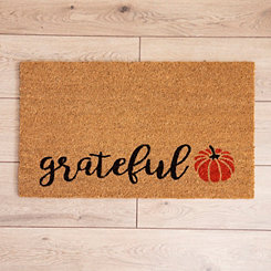 Grateful Leaf Doormat