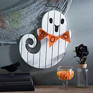 Boo Ghost Pallet Wall Hanger