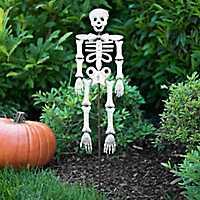 Galvanized Metal Skeleton Yard Stake