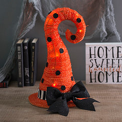 Pre-Lit Halloween Witch Hat