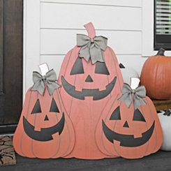 Jolly Pumpkin Trio Statue