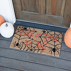 Trick or Treat Yo' Self Welcome Mat