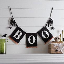 Boo Halloween Banner