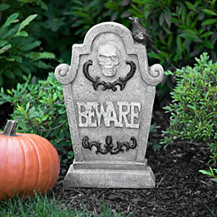 Beware Decorative Tombstone