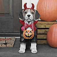 Devilish Beagle Statue