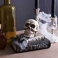 Hexes & Potions Skull Statue