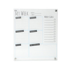 Clear Acrylic Memo Board