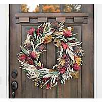Indian Corn Husk Wreath