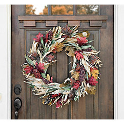 Indian Corn Husk Wreath