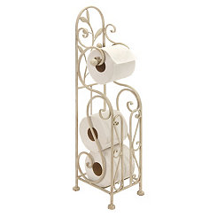 Ivory Leaves Toilet Paper Holder