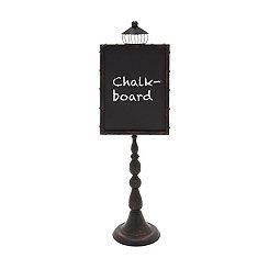 Rustic Elegance Chalkboard Stand