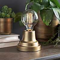 Metallic Gold Edison Bulb Uplight