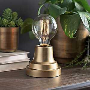 Metallic Gold Edison Bulb Uplight