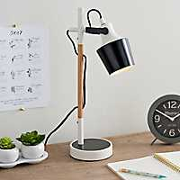 Black Metal Desk Lamp