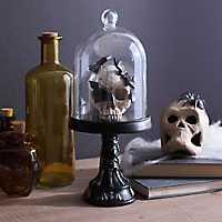 LED Halloween Skull Cloche