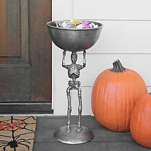 Halloween Skeleton Bowl