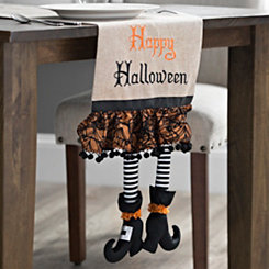 Witch's Shoe Table Runner