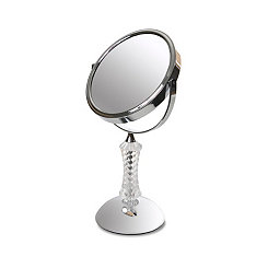 Crystal Chrome Magnifying Mirror