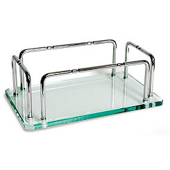 Glass Hand Towel Tray