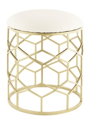 Gold Reign Stool