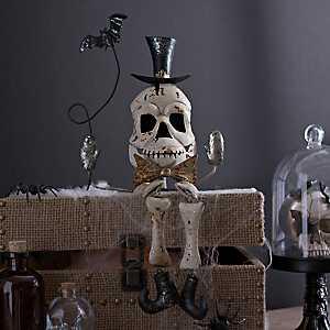 Halloween Skeleton Shelf Sitter