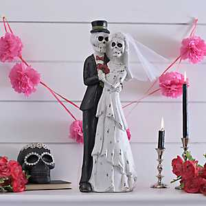 Day of the Dead Wedding Bride & Groom Statue
