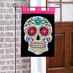Day of the Dead Sugar Skull Flag Set