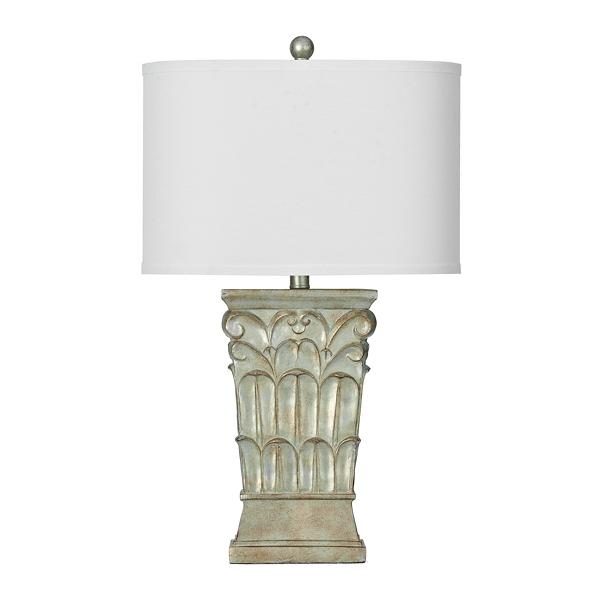 ... Iridescent Raven Pillar Table Lamp ...
