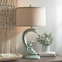 Blue Wave Table Lamp