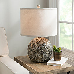 Caprise Artichoke Table Lamp