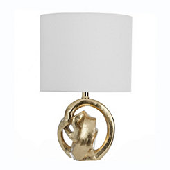 Gold Knot Table Lamp