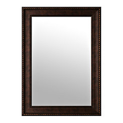 Bronze Rope Wall Mirror, 31.5x43.5