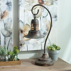 Antique Brown Metal Task Lamp