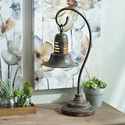 Antique Brown Metal Task Lamp