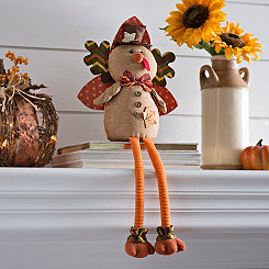 Fall Turkey Shelf Sitter