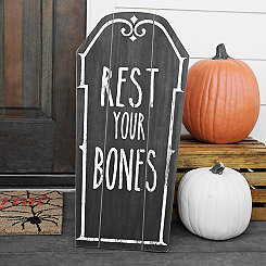 Rest Your Bones Decorative Coffin