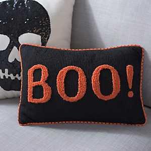 Halloween Boo Pillow