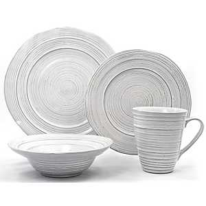 Barolo White 16-pc. Dinnerware Set