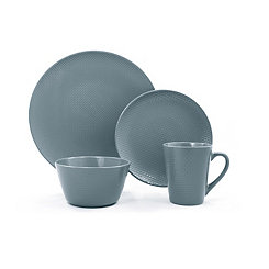 Veneto Dusty Blueberry 16-pc. Dinnerware Set