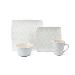 Calla White 16-pc. Dinnerware Set